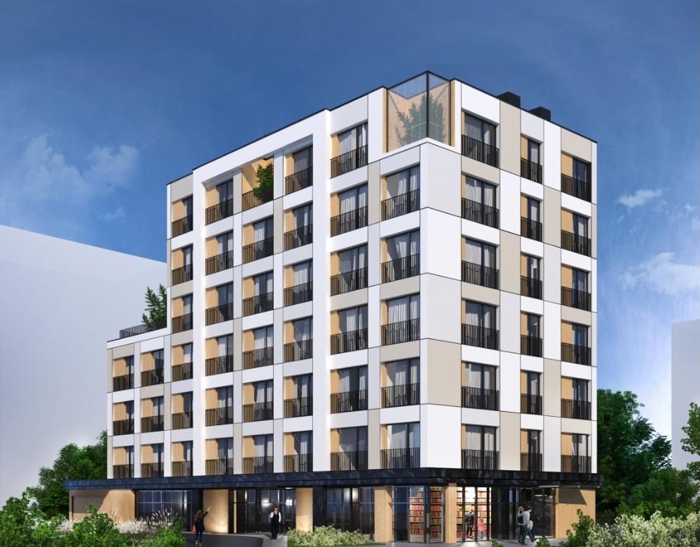 Bydynek Cristal Park Warszawa - apartamenty iwestycyjne