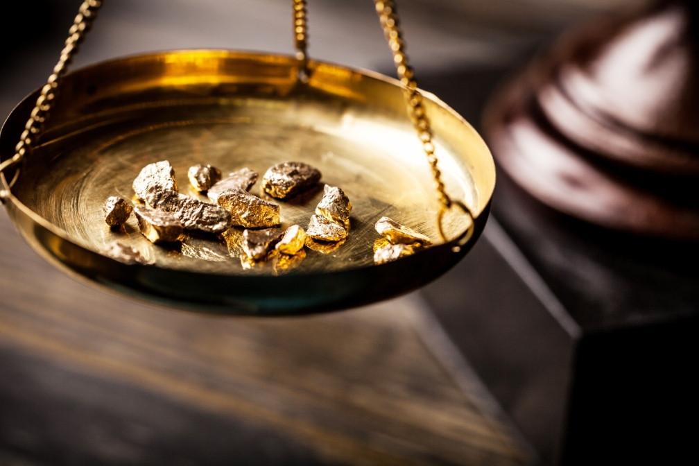 Złoto jest dużo warte